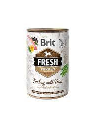 <b>Brit Fresh</b> tins 400g- <b>Turkey</b> with Peas