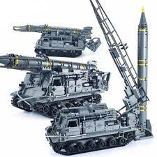 1750pcs <b>military army 8u218</b> tel 8k11 missile tank 4 figures building ...