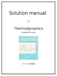chapter solution manual of thermodynamics by hipolito sta maria