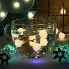 5M 50 <b>LEDs</b> Waterproof <b>Battery Box Ball</b> Bulb String Light with ...