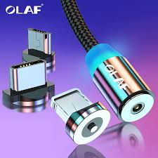 <b>Olaf Magnetic Cable Fast</b> Charging Micro USB Type C Cable ...