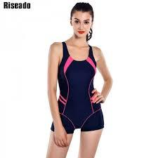 <b>Riseado</b> New <b>Sports One Piece</b> Swimsuit Swimwear For Women ...