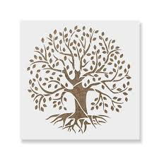 Tree of Life Stencil Template - Reusable Stencil with Multiple Sizes ...