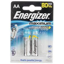 <b>Батарейка Energizer Maximum AA</b> LR6/E91 FSB2, цена за ...