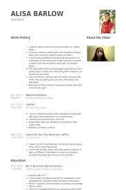 waitress hostess resume samples   visualcv resume samples databasewaitress hostess resume samples
