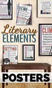 17 best ideas about literary elements literary literary elements posters