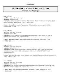 best photos of template of job description for vet tech veterinary technician resume examples