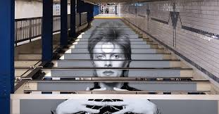 Installation Takes Over NYC Subway <b>Station</b> in <b>David Bowie</b> Tribute
