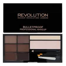 <b>Revolution Ultra</b> Eyebrow Palette Kit Medium to Dark | Superdrug