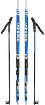 Комплект лыжный детский Nordway XC Classic Jr NNN синий ...