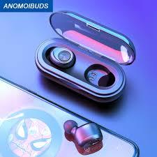Anomoibuds Capsule <b>TWS Wireless</b> Earphone <b>V5</b>.0 <b>Bluetooth</b> ...
