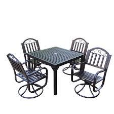 living rochester swivel piece dining set