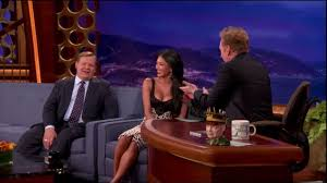 Nicole Scherzinger Busts Conan For Staring At Her <b>Boobs</b> - YouTube