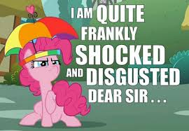 Pinkie Pie is Shocked and Disgusted by shado013 on DeviantArt via Relatably.com