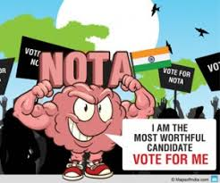 Image result for NOTA in indian politics pic pics