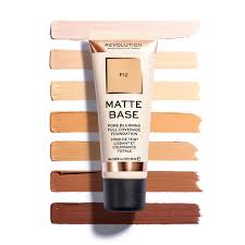 <b>Matte Base Foundation</b>   <b>Revolution</b> Beauty Official Site