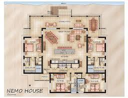 NEMO HOUSE   New Luxury Beachfront   Perfect      HomeAway ExumaNemo House Floor Plan