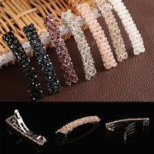 <b>1PCS Fashion Women</b> GirlsRhinestone <b>Hair</b> Clip Barrette Hairpin ...