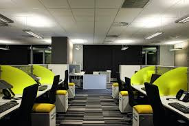 awesome office interior design ideas with black swivel chairs and striped also office interior design brilliant modern awesome contemporary office design