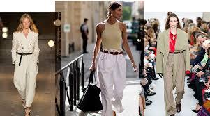 Модный тренд лета 2018 – <b>брюки</b> на два размера больше ...