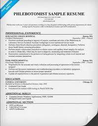 phlebotomist resume no experience latest resume format phlebotomy resume