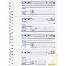 adams wire bound money rent receipt books original