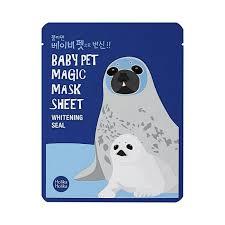 <b>Тканевая маска</b>-мордочка <b>отбеливающая</b> Baby Pet Magic Mask ...