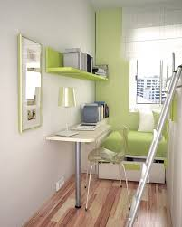 small green and white teen room layout with space saving furniture and wooden floor bespoke furniture space saving furniture wooden