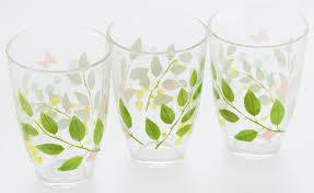 "Набор стаканов <b>Pasabahce</b> ""<b>Butterflies</b>"", 360 мл, 3 шт — купить в ..."