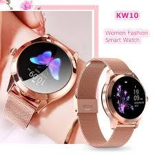 <b>ASKMEER KW10 Smart</b> Watch Women IP68 Waterproof Sport ...