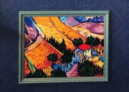 <b>Набор для вышивания Чарiвниця</b> V158 Пейзаж с домом и ...