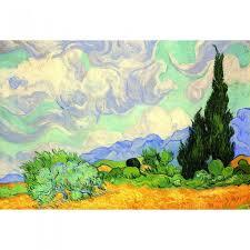 <b>Пазл Винсент</b> ван Гог Пшеничное поле с кипарисами 1000 ...