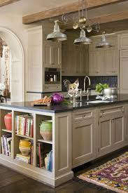 Kitchen Open Shelves Kitchen Room Design Trendy Display Kitchen Islands Open Shelving