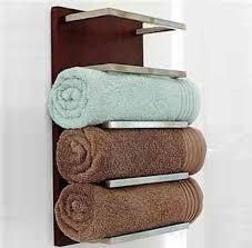 14 современных идей для хранения <b>полотенец</b> в ванной комнате