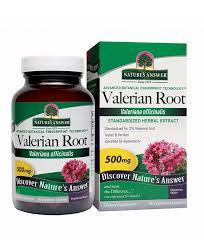 <b>Valerian Root Standardized 60</b> Veggie Capsules