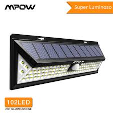 Mpow CD126 Super Bright <b>102 LED Solar</b> Light Waterproof <b>Outdoor</b> ...