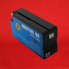 High Yield <b>Black Pigment</b> Ink Cartridge <b>Compatible</b> with HP ...