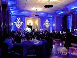 damask lighting wedding texture lighting blue wedding uplighting