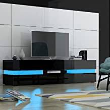 High Gloss Black TV Unit - Amazon.co.uk