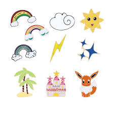 Fashion Cartoon Rainbow Sun Moon Cloud Brooch Cute <b>Squirrel</b> ...