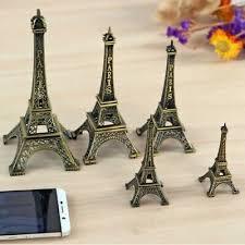 Metal Eiffel <b>Tower</b> Paris Souvenir Miniature <b>Decoration</b> Birthday ...