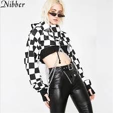 Nibber Rock punk style Women's full sleeve Hoodie <b>2019 spring</b> ...