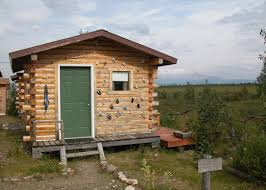 cabin decor lodge sled: sled dog cabin one room earthsong lodge healy
