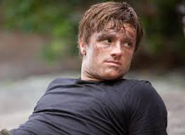 Josh Hutcherson as Peeta Mellark in Suzanne Collins's Hunger Games
