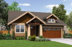 Bungalow House Plans   Houseplans comCraftsman style bungalow Plan   front