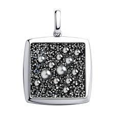 Подвеска из серебра с кристаллами <b>Swarovski SOKOLOV</b> ...