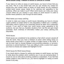 cover letter template for example of a problem solution essay     problem and solution essay topics examples social topics for essays world issues essays