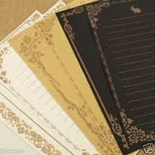 <b>8Pcs</b>/<b>Set</b> Vintage Retro Letter Paper Note Writing Stationery Paper ...