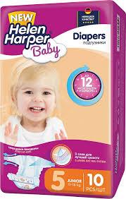 <b>Подгузники Helen Harper Baby</b> 11-18 кг (размер 5), 10 шт