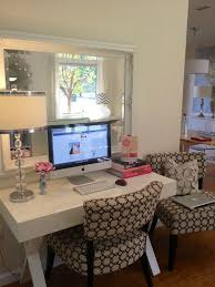 like the idea of the mirror behind desk reflecting the window for natural light natural lighting home office